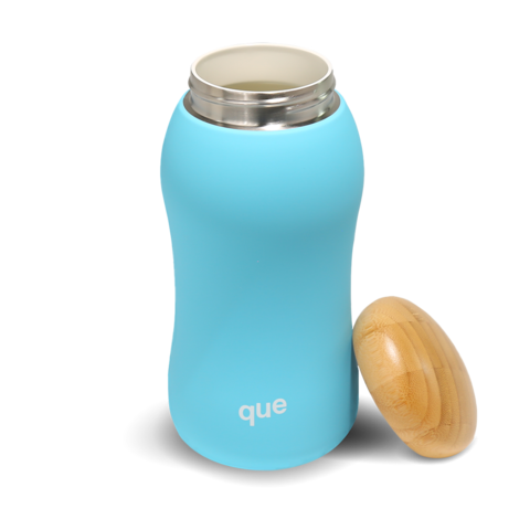 QUE Insulated Bottles in 12 oz and 17 oz