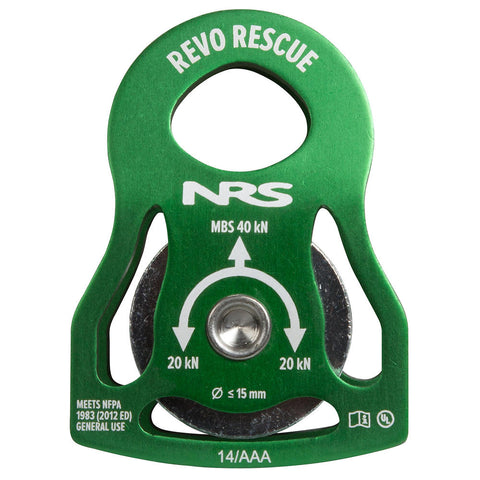"NRS Revo Rescue 2"" Pulley"