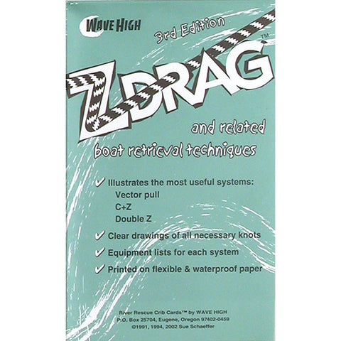 Z-Drag Rescue Crib Sheet