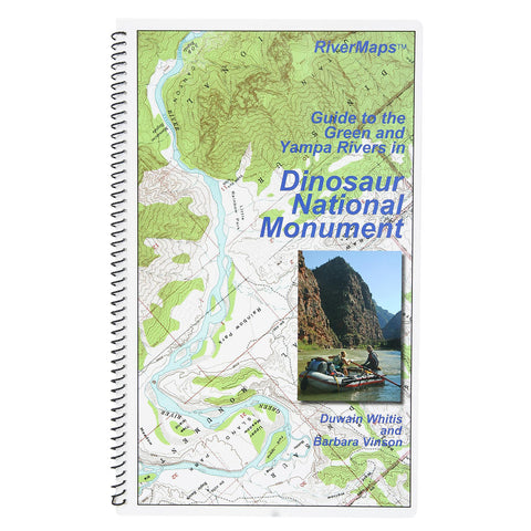 RiverMaps Green & Yampa in Dinosaur National Monument Guide Book