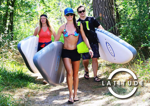 Latitude Payette Inflatable SUP Package