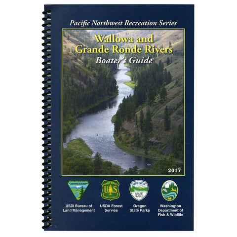 Wallowa & Grande Ronde Rivers Boater's Guide Book