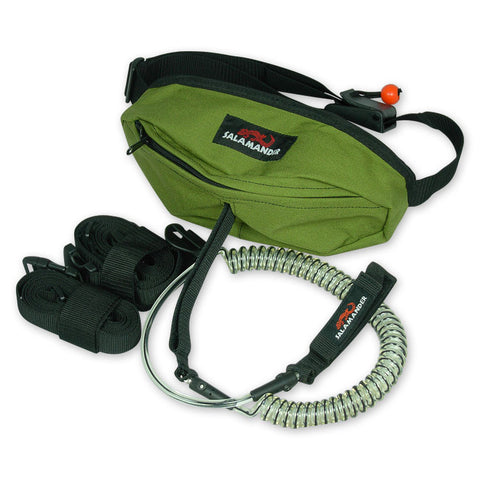 SUP Bag with Coiled Leash & Carry Strap