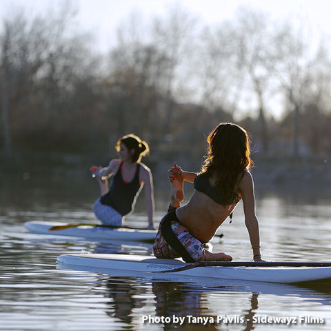 Single SUP Yoga Class