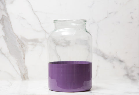 etuHOME Purple Mason Jar