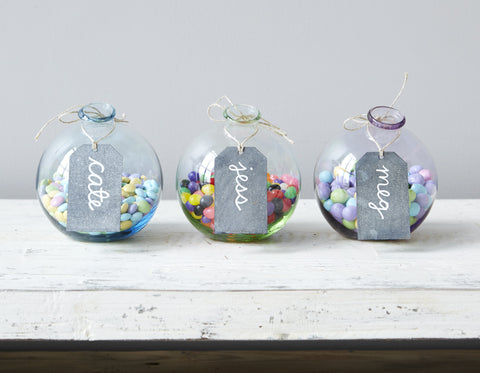 europe2you Sphere Glass Vase Candy Jar