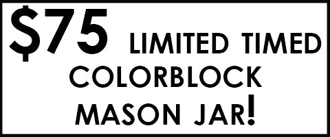 etuHOME Colorblock Mason Jar Promotion Sidebar