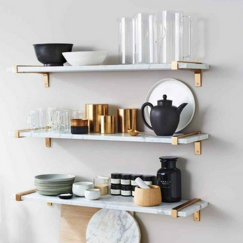 etúHOME Open Shelving