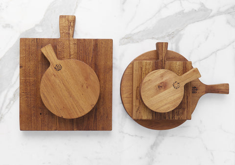 Wood Cutting and Serving Boards