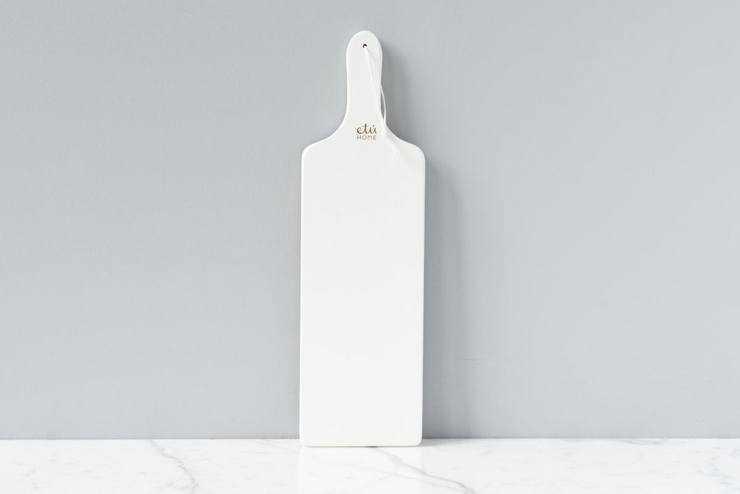 White Tapas Plank, Set of 2