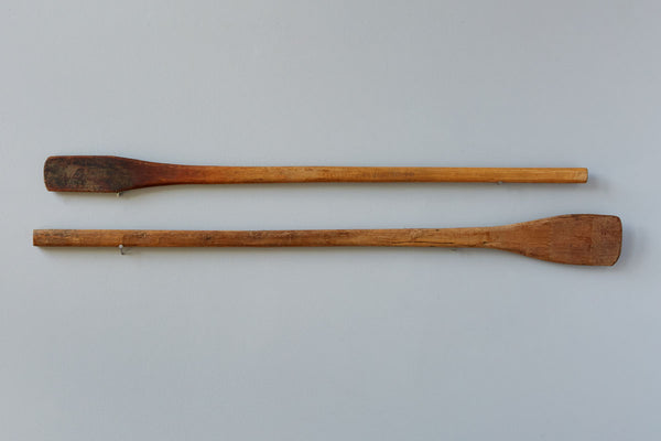 Large Found Wooden Jam Spoon