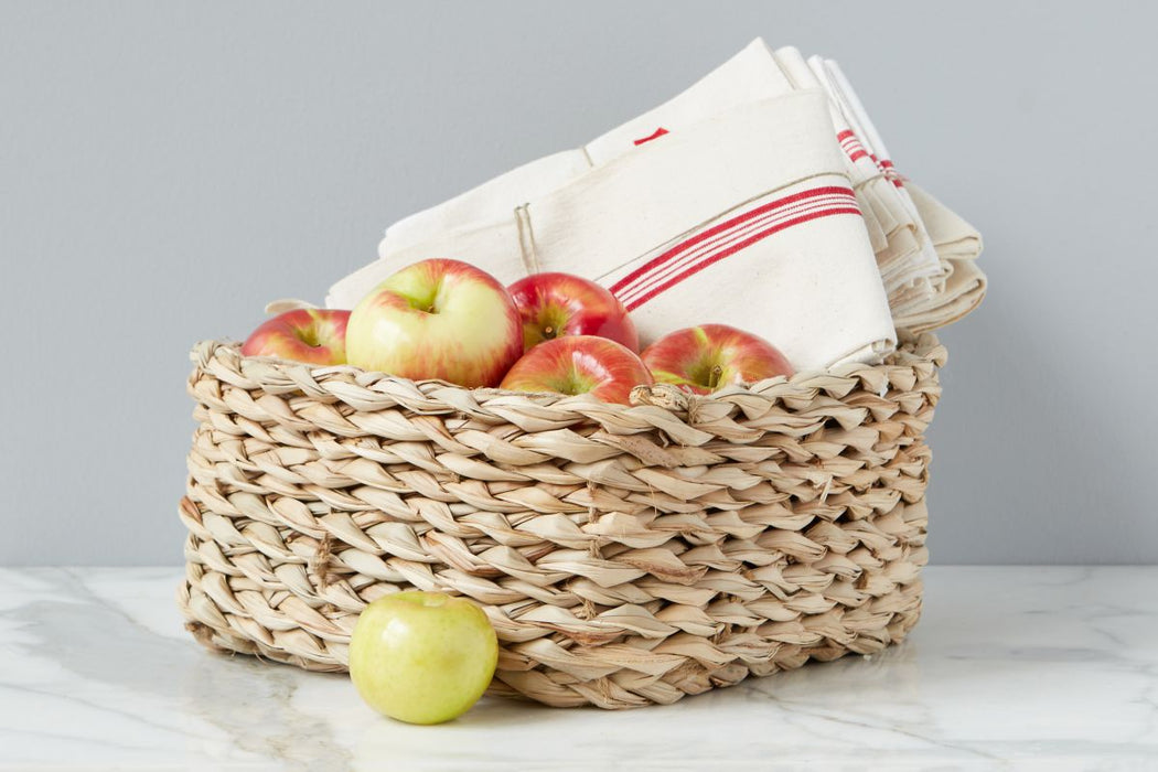 Rush Square Bread Basket