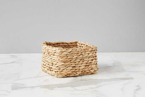 Rush Square Napkin Basket