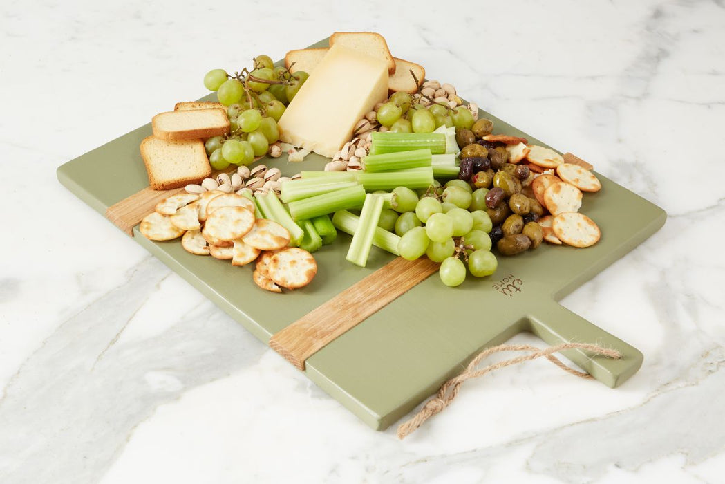 Sage Rectangle Mod Charcuterie Board, Medium