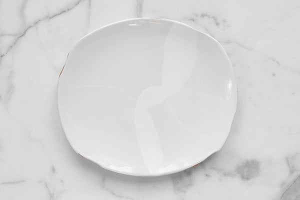 Exposed Edge Organic Dinner Plate-Large