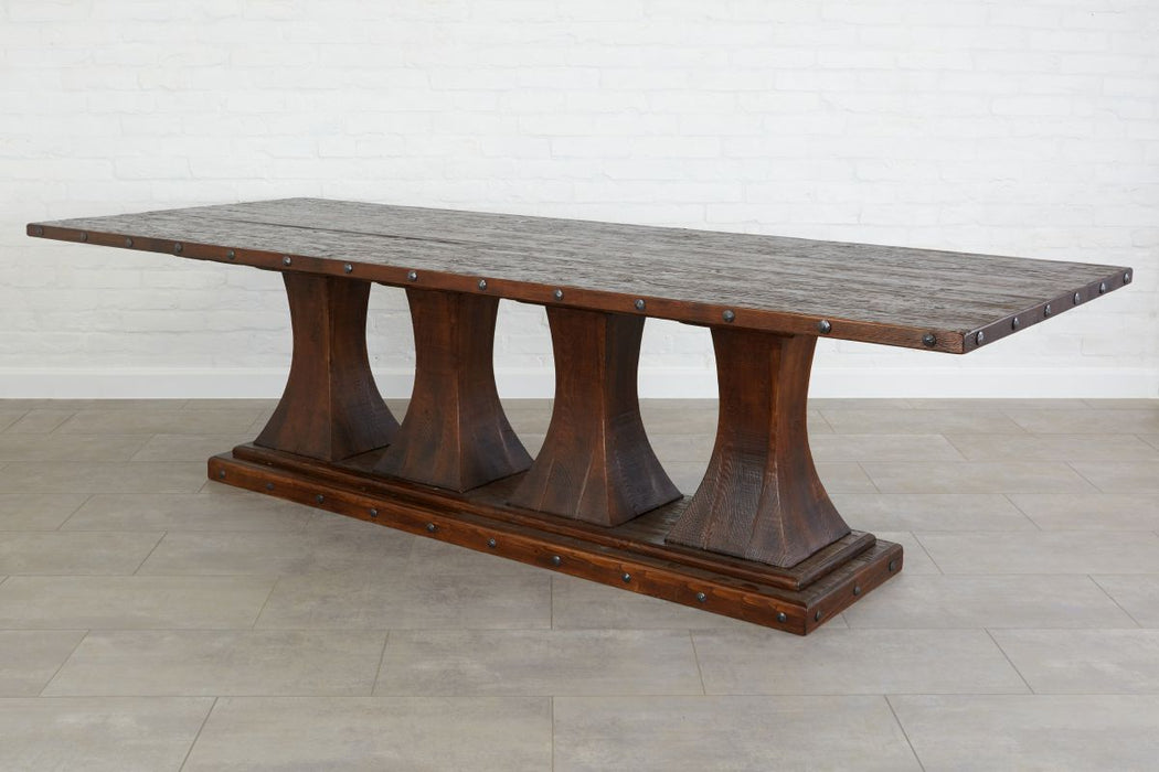 FEY404ES4-Camelot-Pedestal-Rectangle-Table