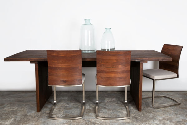 Mod Parsons Dining Table, Saddle