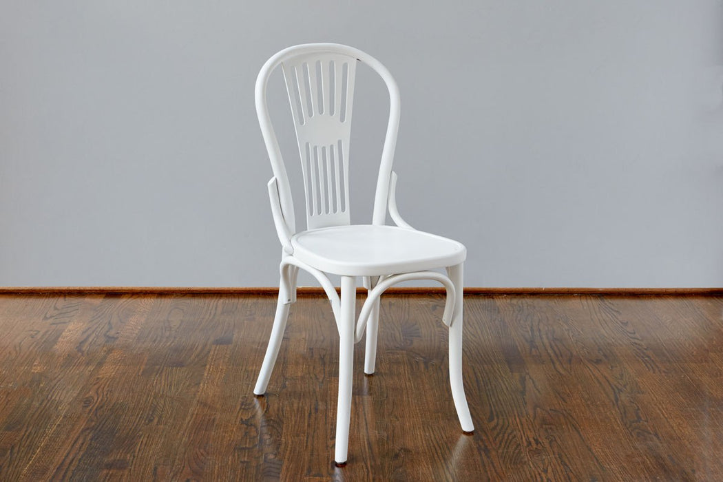 etuHOME Classic Windsor Chair, White