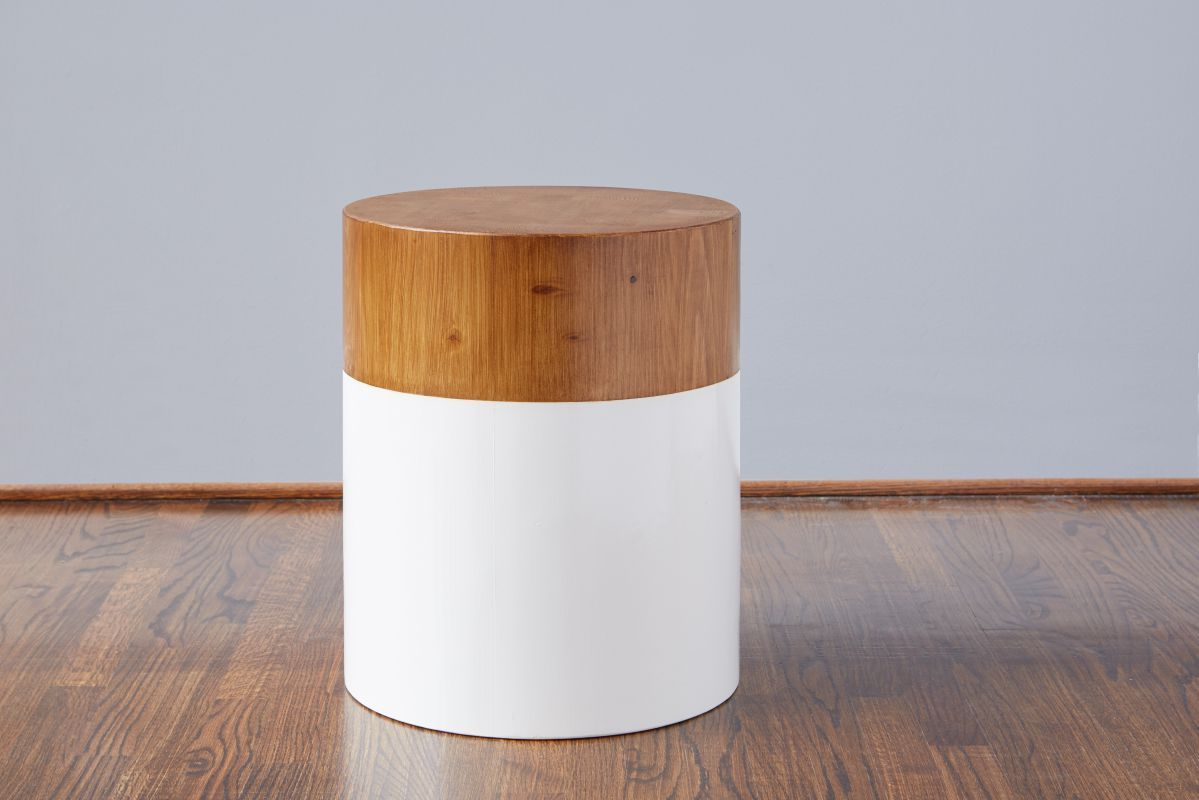 Magnificent Round Mod Block Stool White Pdpeps Interior Chair Design Pdpepsorg