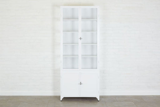 etuHOME White Two Door Vitrine