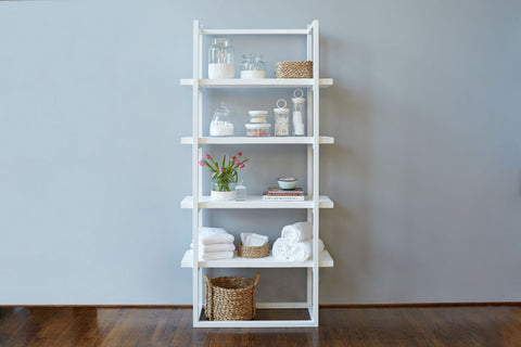 Pantry Shelf Unit White with White Shelves