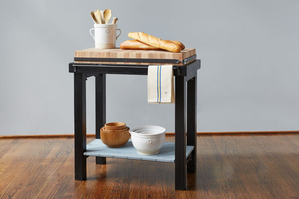 Butcher Block Island, Black