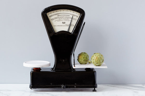 Found Farmers Market Scale, Black