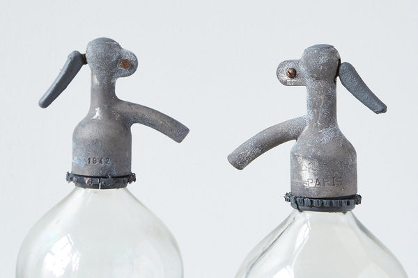 Paris Seltzer Bottle