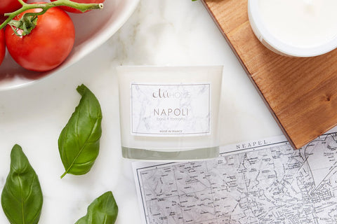 Etuhome Kitchen Candle Napoli Basil And Tomato
