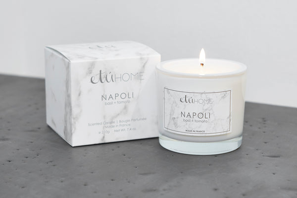 Small Candle, Napoli Basil and Tomato