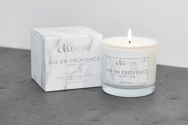 Small Candle, Aix en Provence Rosemary and Sage