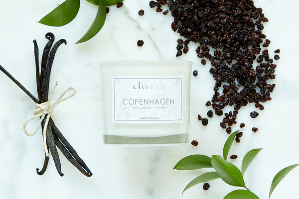 Small Candle, Copenhagen, Red Currant+Vanilla