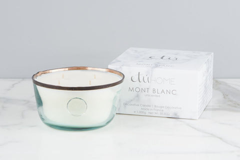 Large Candle, Mont Blanc, Unscented