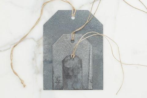 Medium Galvanized Hangtag
