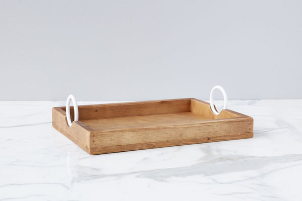 Bianca Rectangle Tray, Small