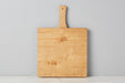 Natural Square Italian Pizza Board, Small 2