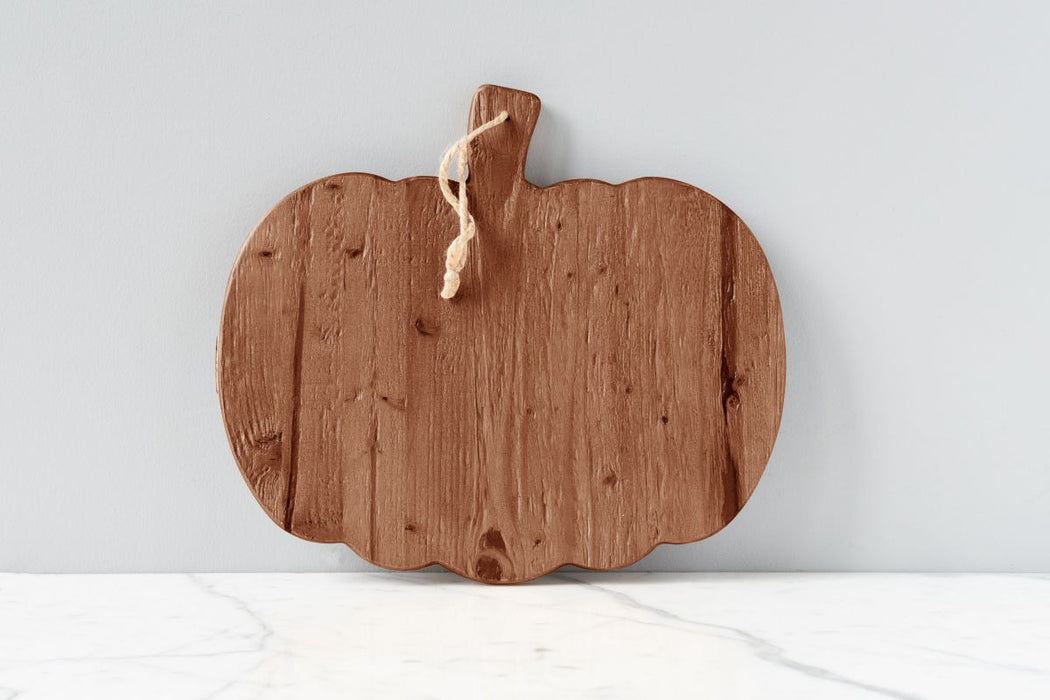 Natural Mod Pumpkin Charcuterie Board, Small