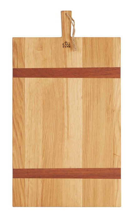 Rectangle Oak Charcuterie Board, Large