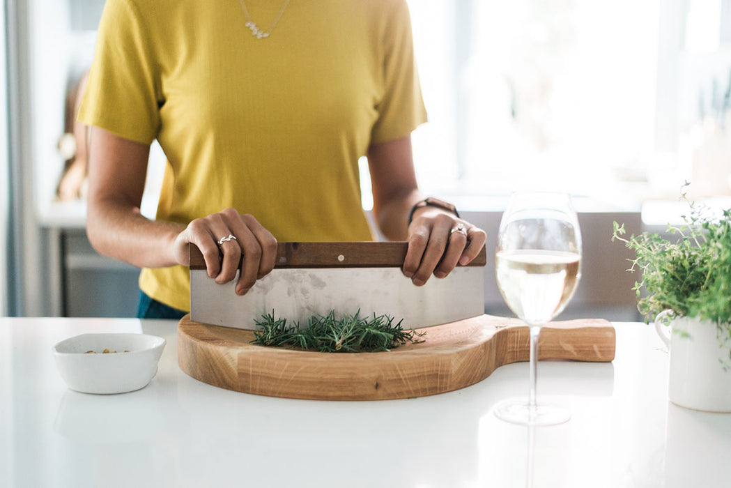 Italian Cutting Board Bowl