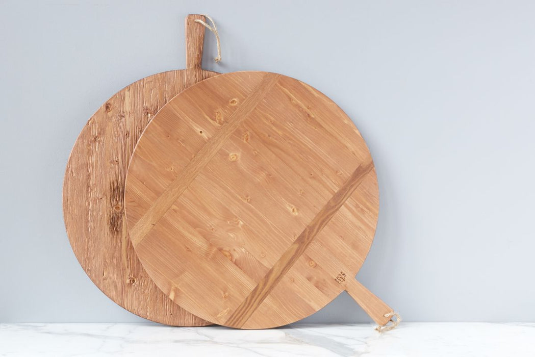 Pine Round Charcuterie Board, Large