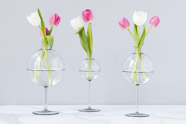 etuHOME & Glass Vases - Elegant Recycled Glass Flower and Decorative ...