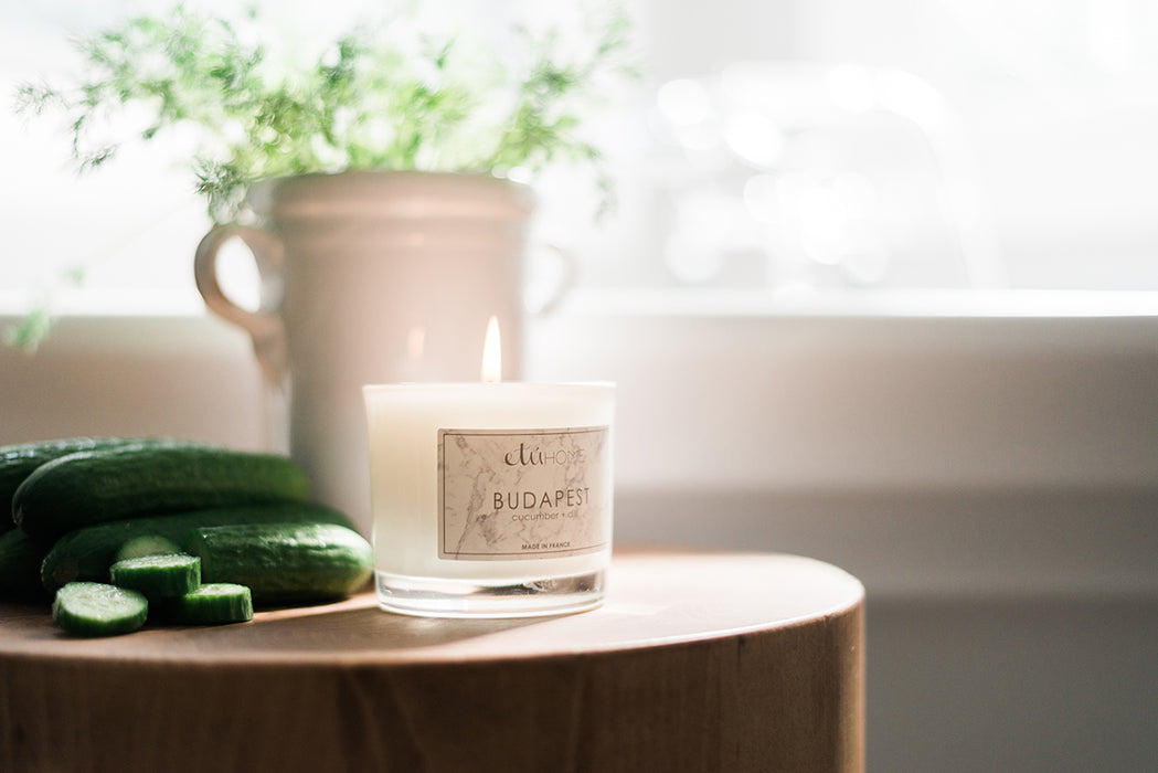 Budapest Cucumber and Dill Candle