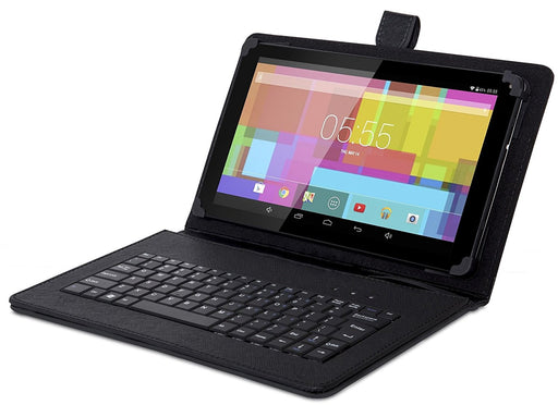 USB Full QWERTY keyboard with case for 10 inch tablets - TforTablet