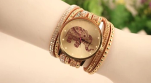 Prosperity Elephant Bracelet Watch