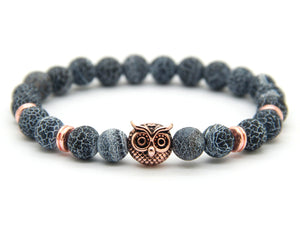 Weathering Agate Stone | Owl