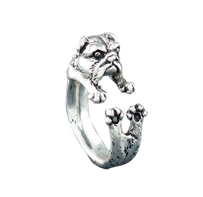 Vintage Bulldog Ring