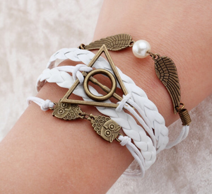 Aurora Owl Bangle