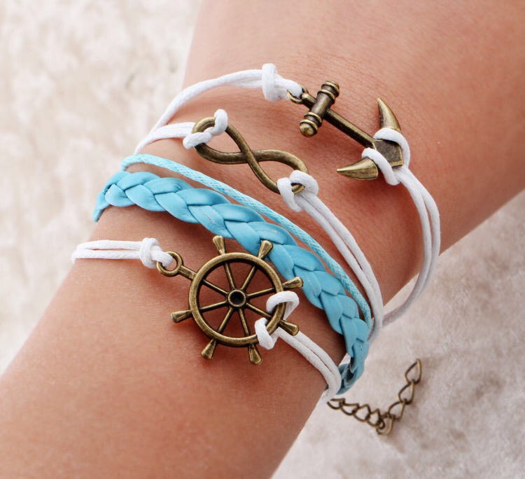 Oceanic Anchor Bangle