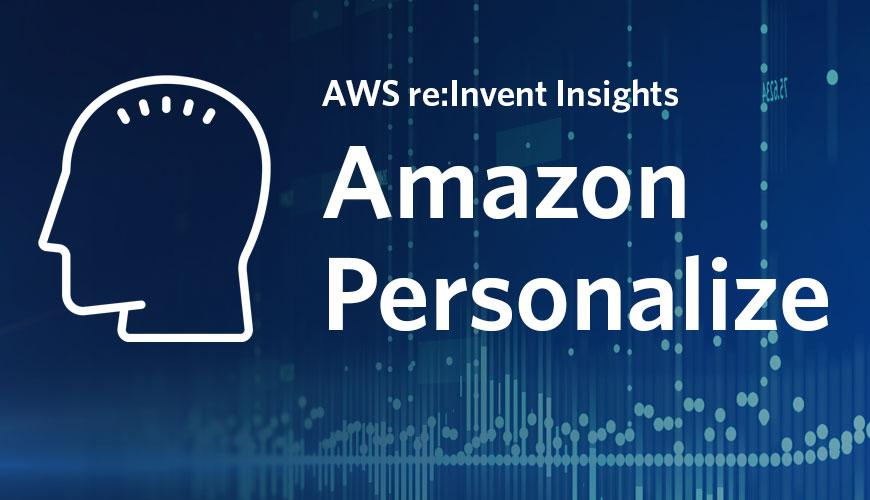 Amazon Personalize is AWS's built-in AI recommendation system.