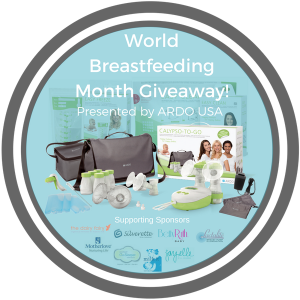 Win Ardo For A Year! World Breastfeeding Week Giveaway